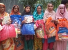 Emergency support to the cold wave affected families